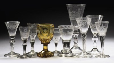 A collection of various glasse