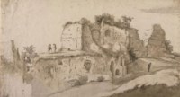 A view of the Palatine, Rome
