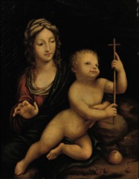The Madonna of the Yarnwinder