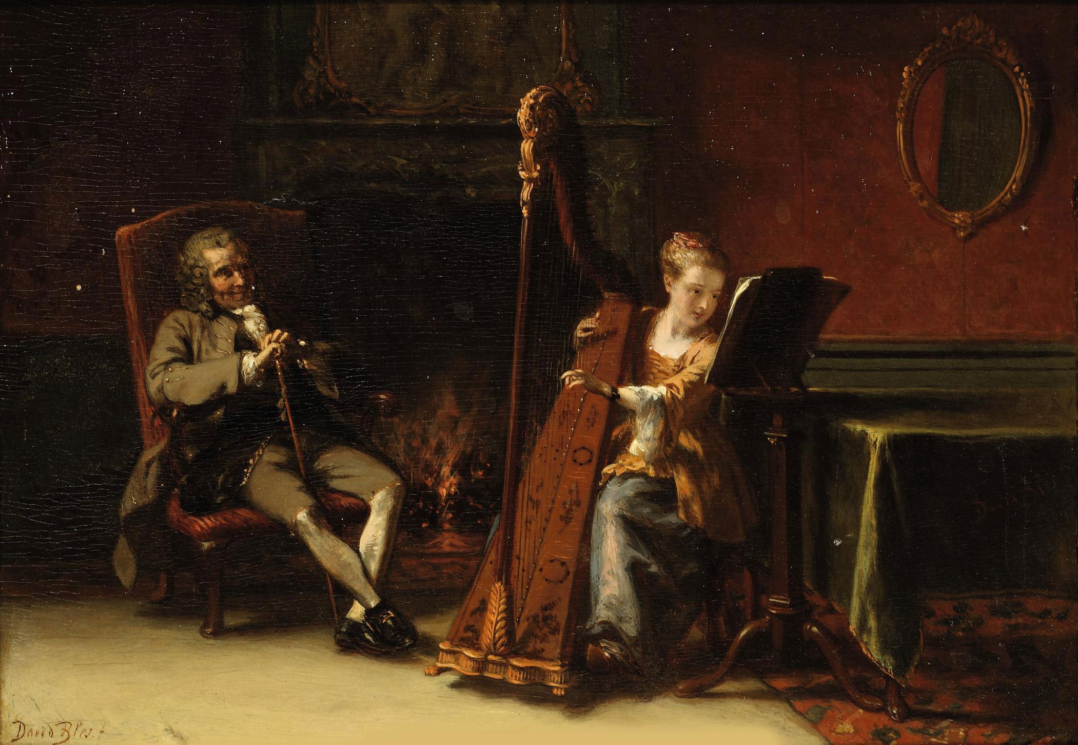 The recital: Le Grand Père et la Petite Fille