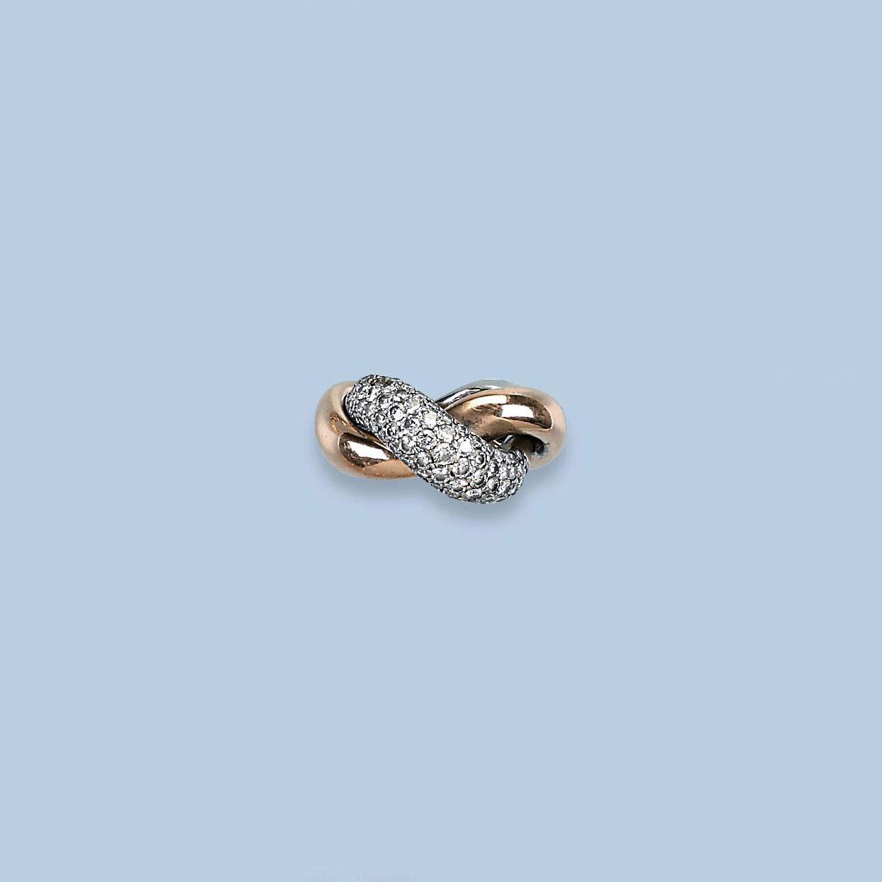 A CONTEMPORARY DIAMOND RING, B