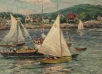 Yachts at Rockport, Massachusetts