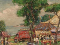 Downie Brothers Circus at Gloucester, Massachusetts