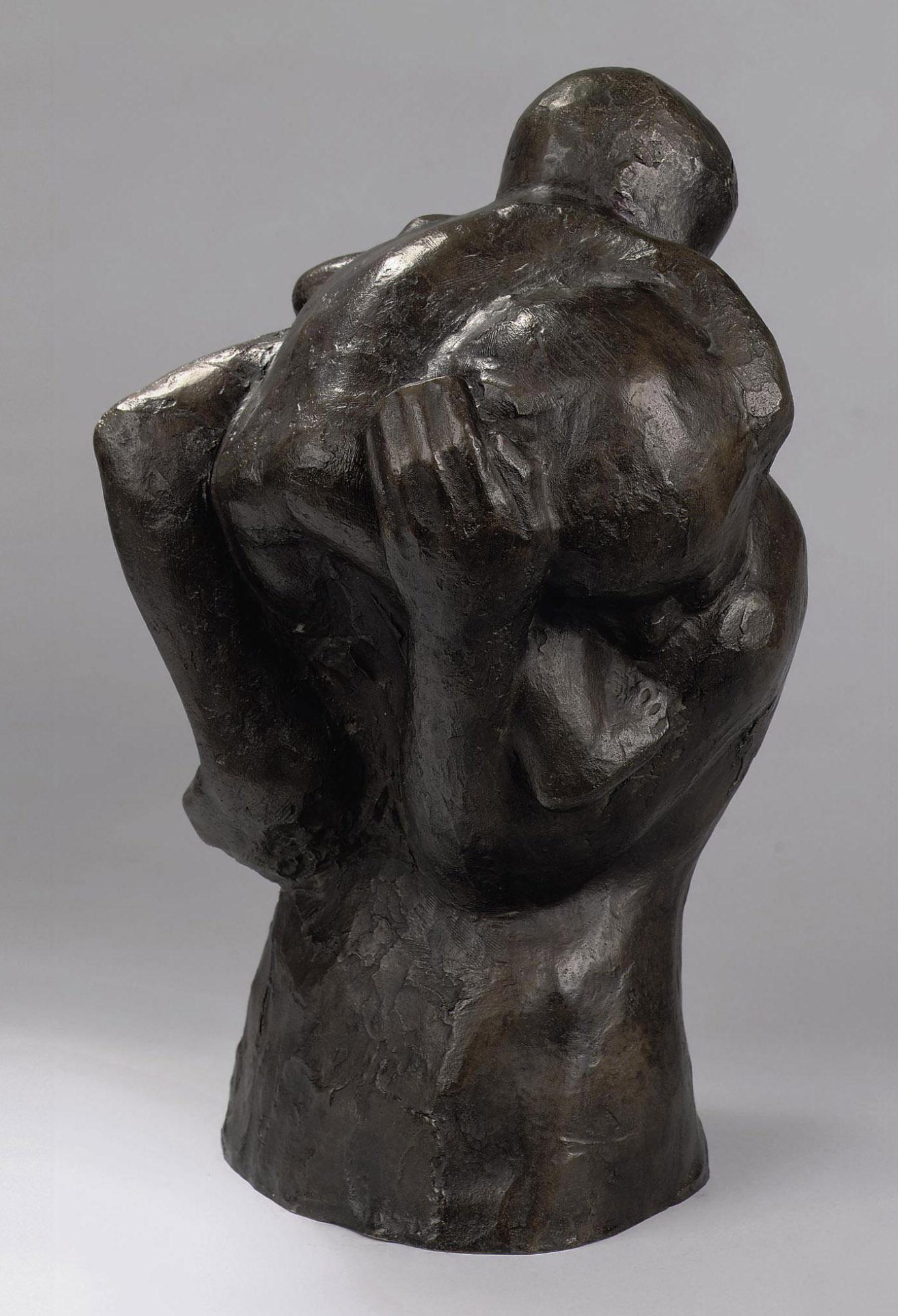 Mutter mit Kind über der Schulter (Die Darbietung)