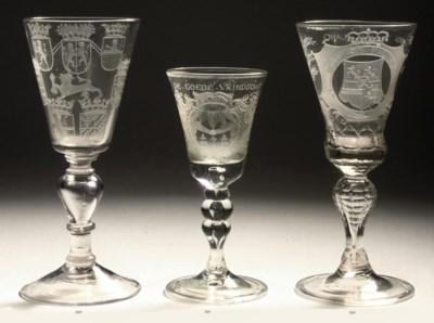 A DUTCH ENGRAVED GLASS, 'VRIEN