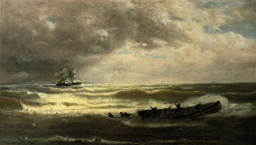 On heavy seas