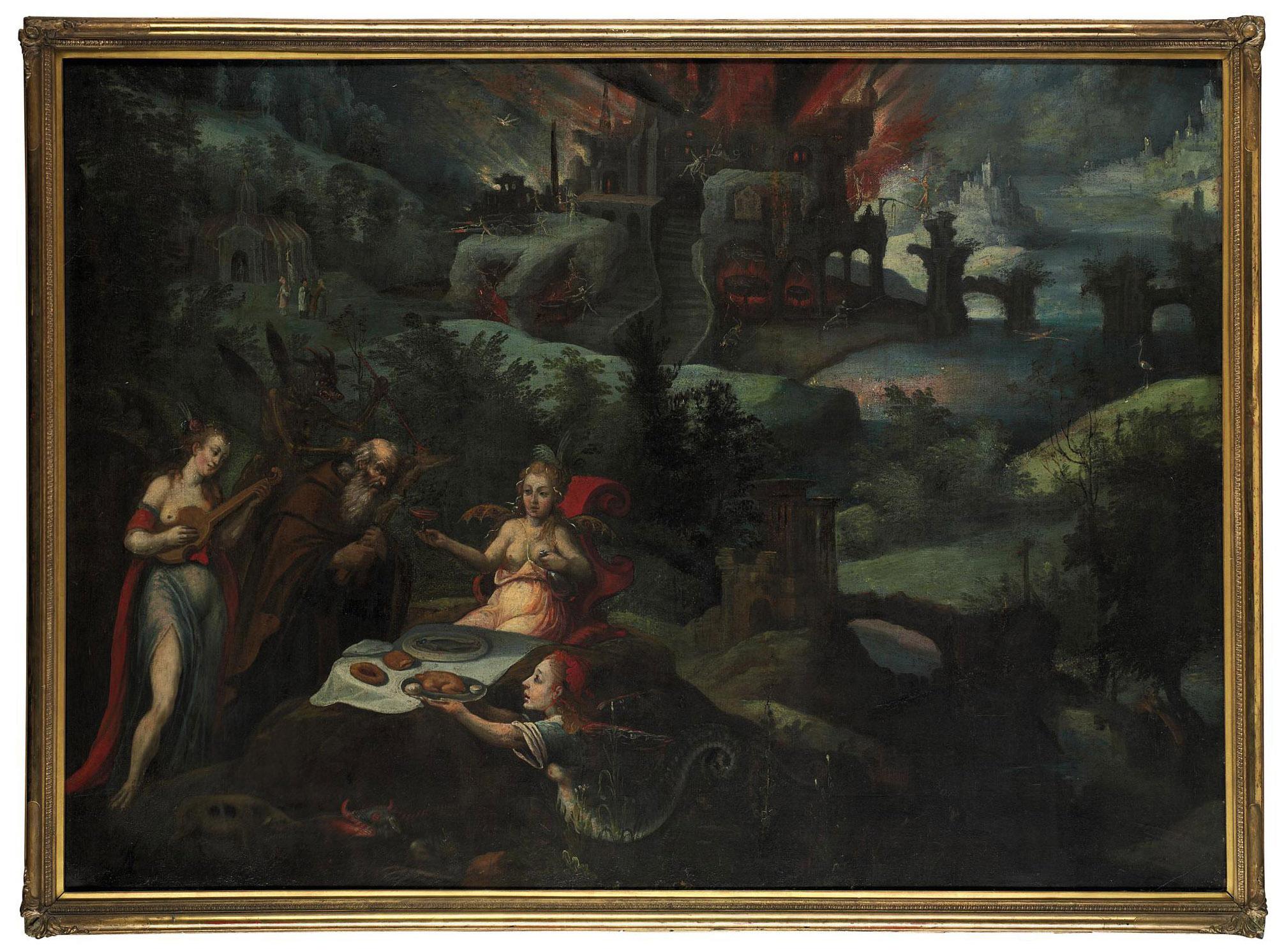 The Tempation of Saint Anthony