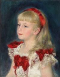 Mademoiselle Grimprel au ruban rouge (Hélène Grimprel)