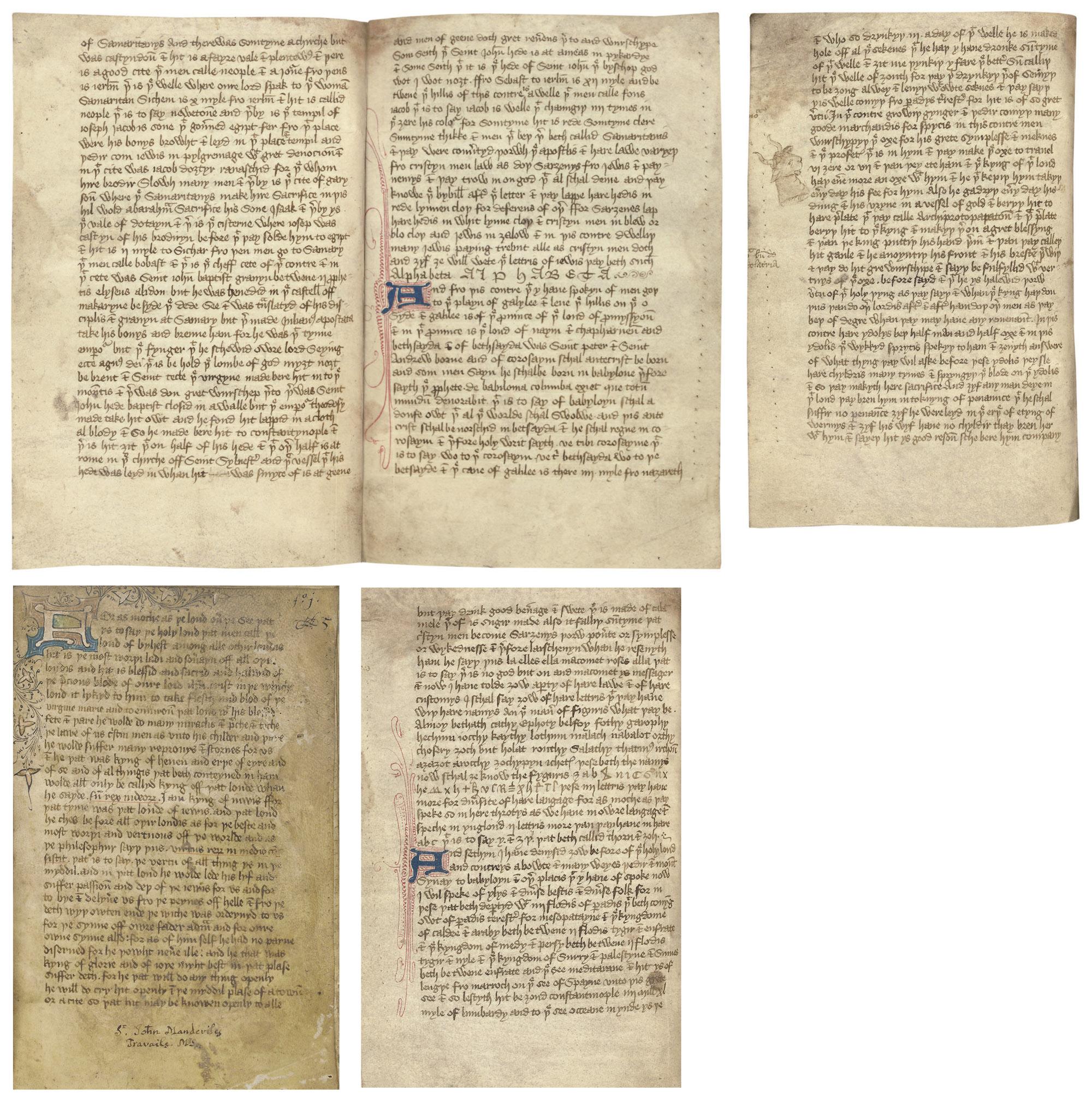 THE BOOK OF JOHN MANDEVILLE, o