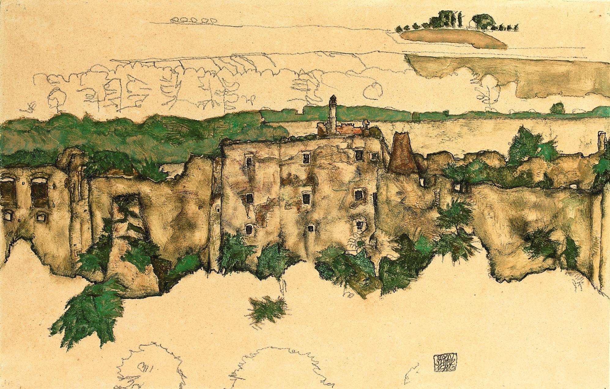 Landschaft (Ruine Weitenegg)