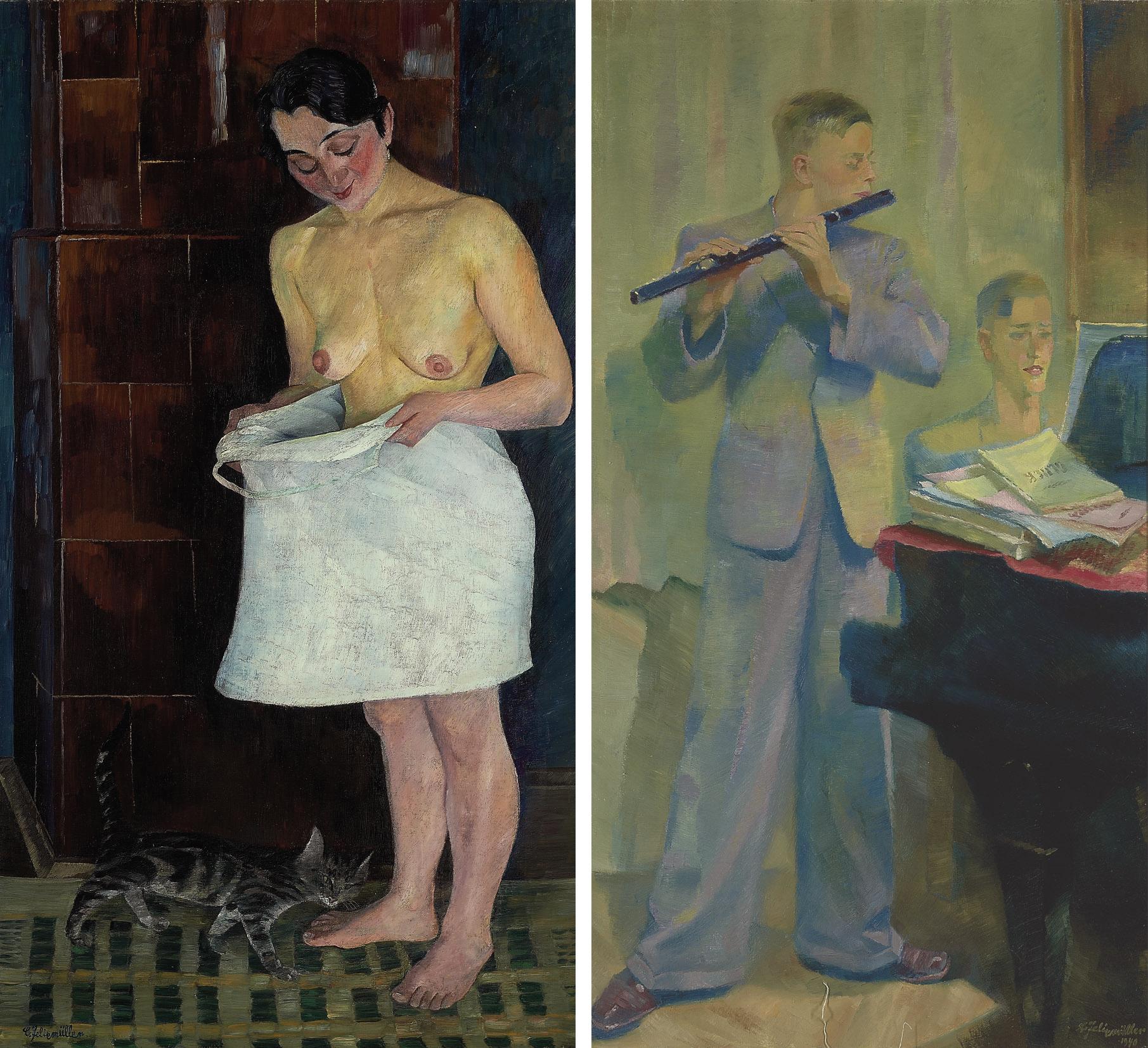 Der Floh (recto); Flötensonate (verso)