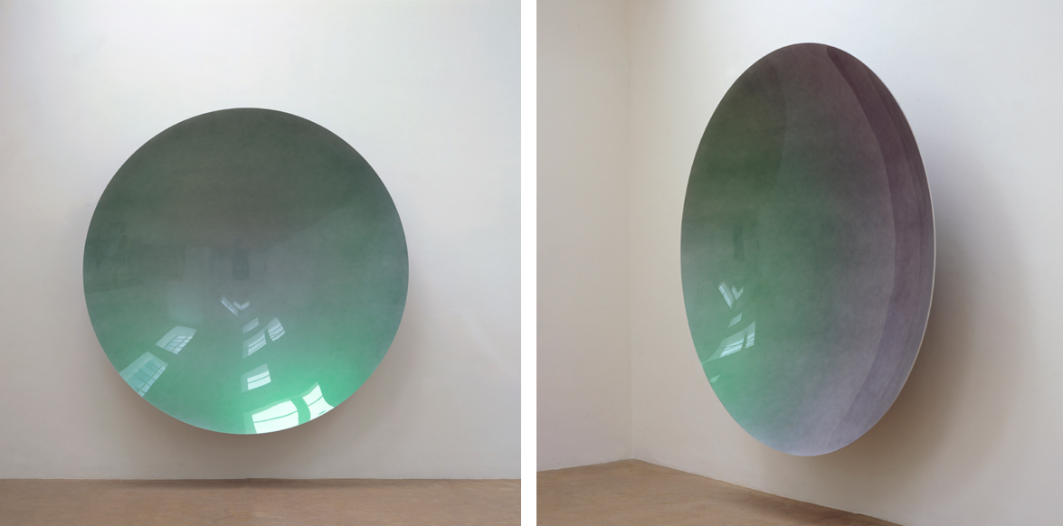 Untitled (Green Rainbow Mirror)