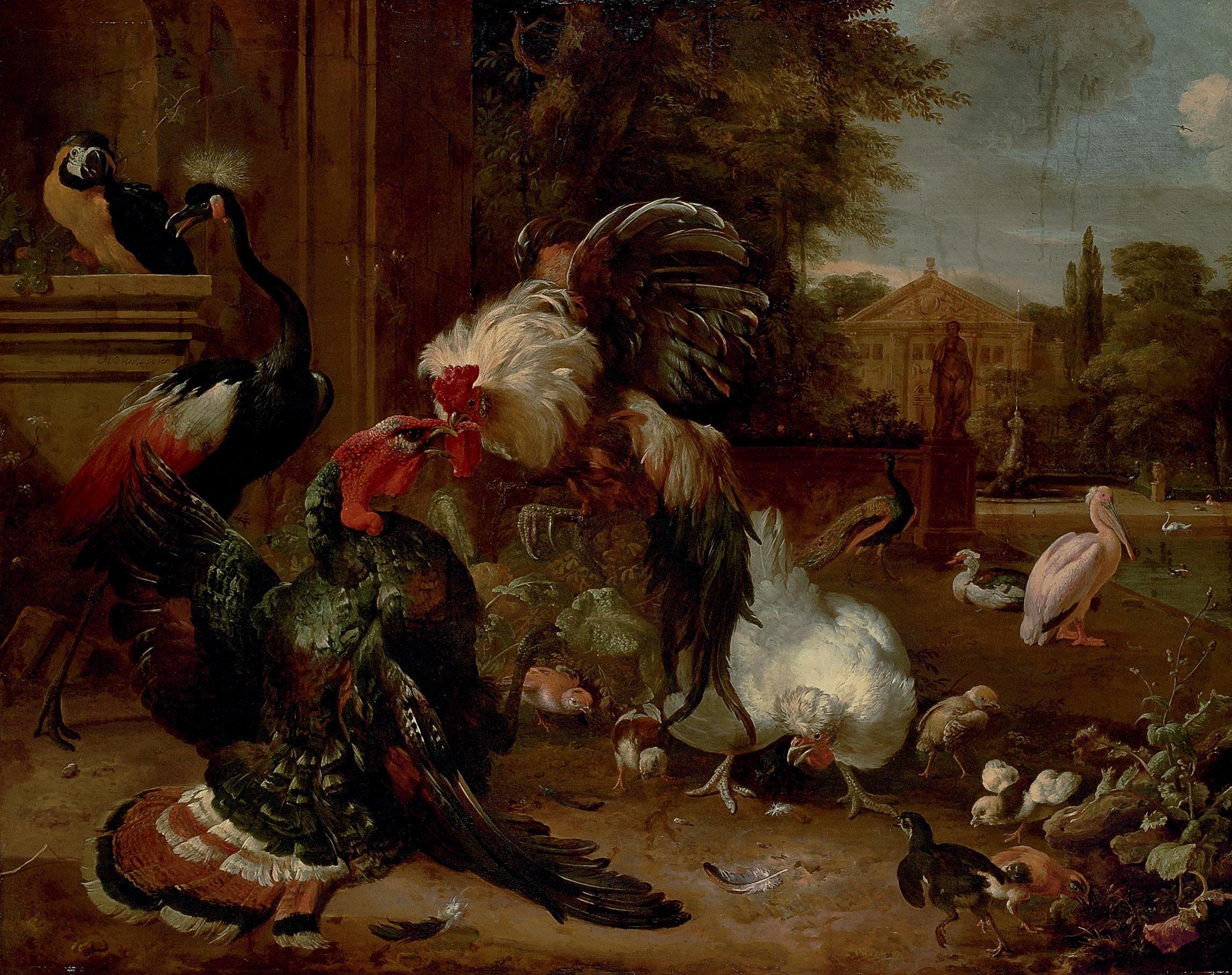 Melchior d'Hondecoeter (Utrecht 1636-1695 Amsterdam)