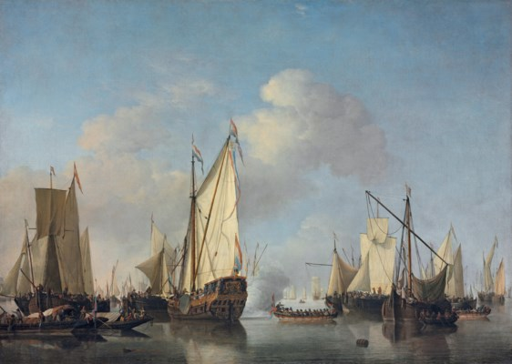 Willem van de Velde the Younge