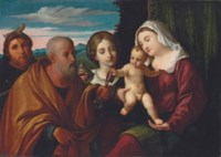 Sacra Conversazione: The Madonna and Child with Saints Mary Magdalene, Peter and Peter Martyr