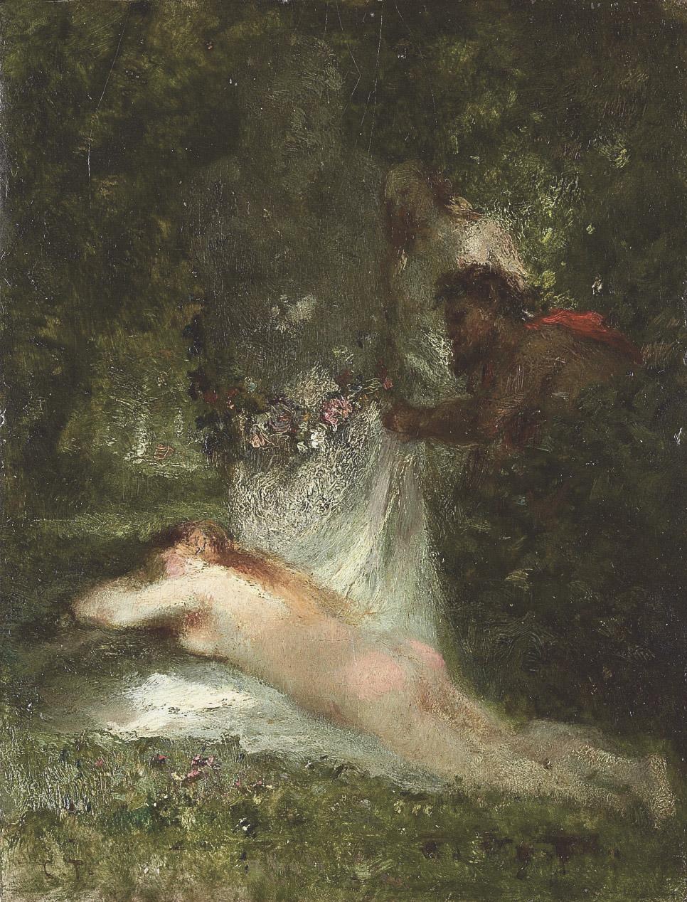 Le sommeil de la nymphe