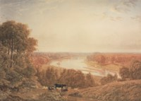 The Thames from Richmond Hill, Surrey