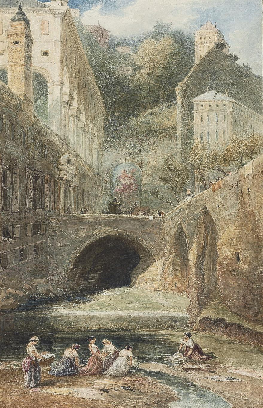 The temple of Vesta above the Falls at Tivoli