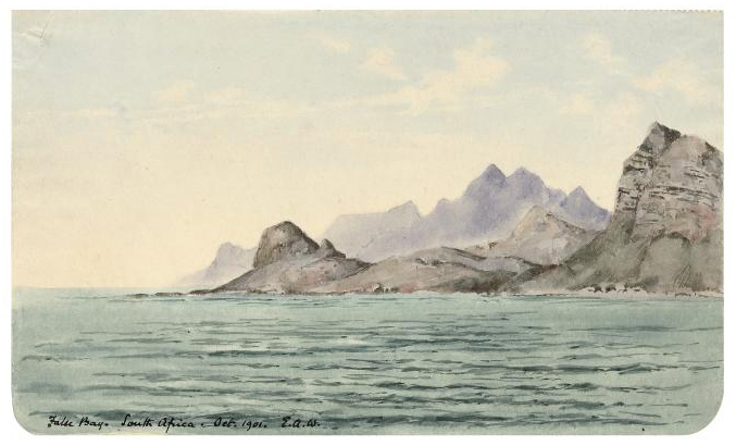 False Bay. South Africa. Oct. 1901.