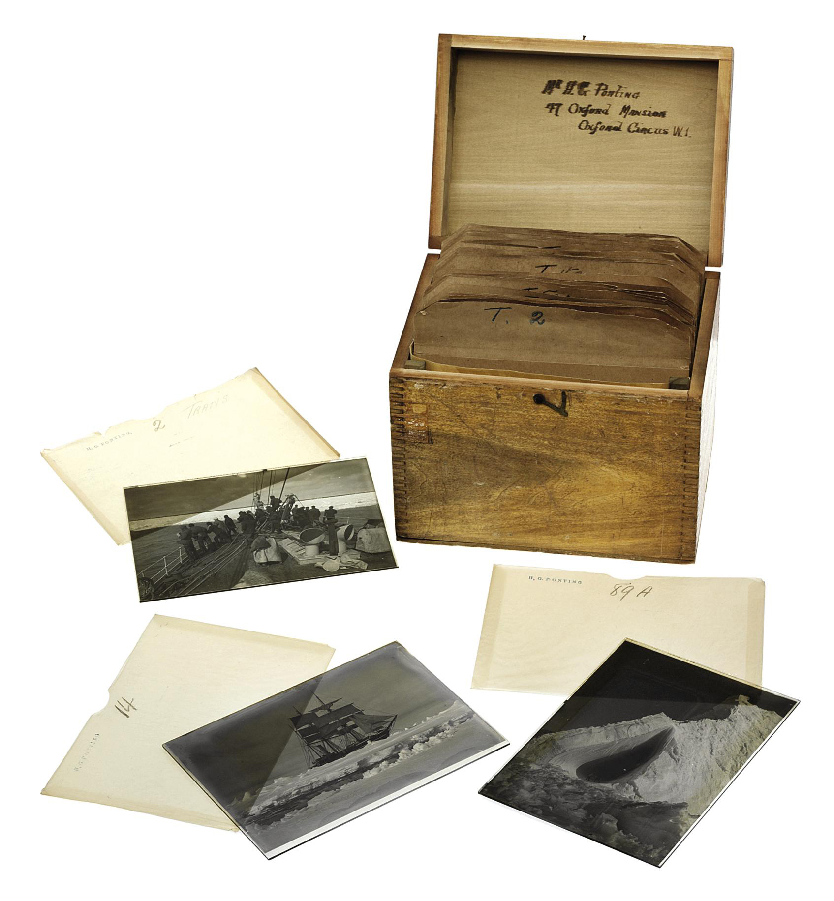 British Antarctic Expedition, 1901-13: 'Captain Scott Antarctic Expedition -- Transparencies T1-T296'