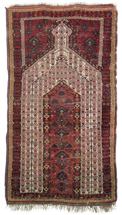AN ERSARI PRAYER RUG