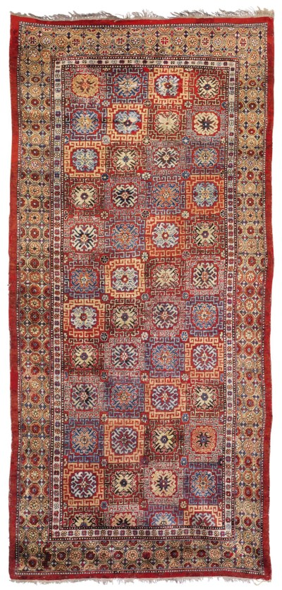 AN EAST TURKESTAN RUG