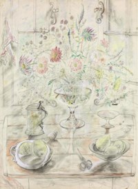 Chalice with Flowers