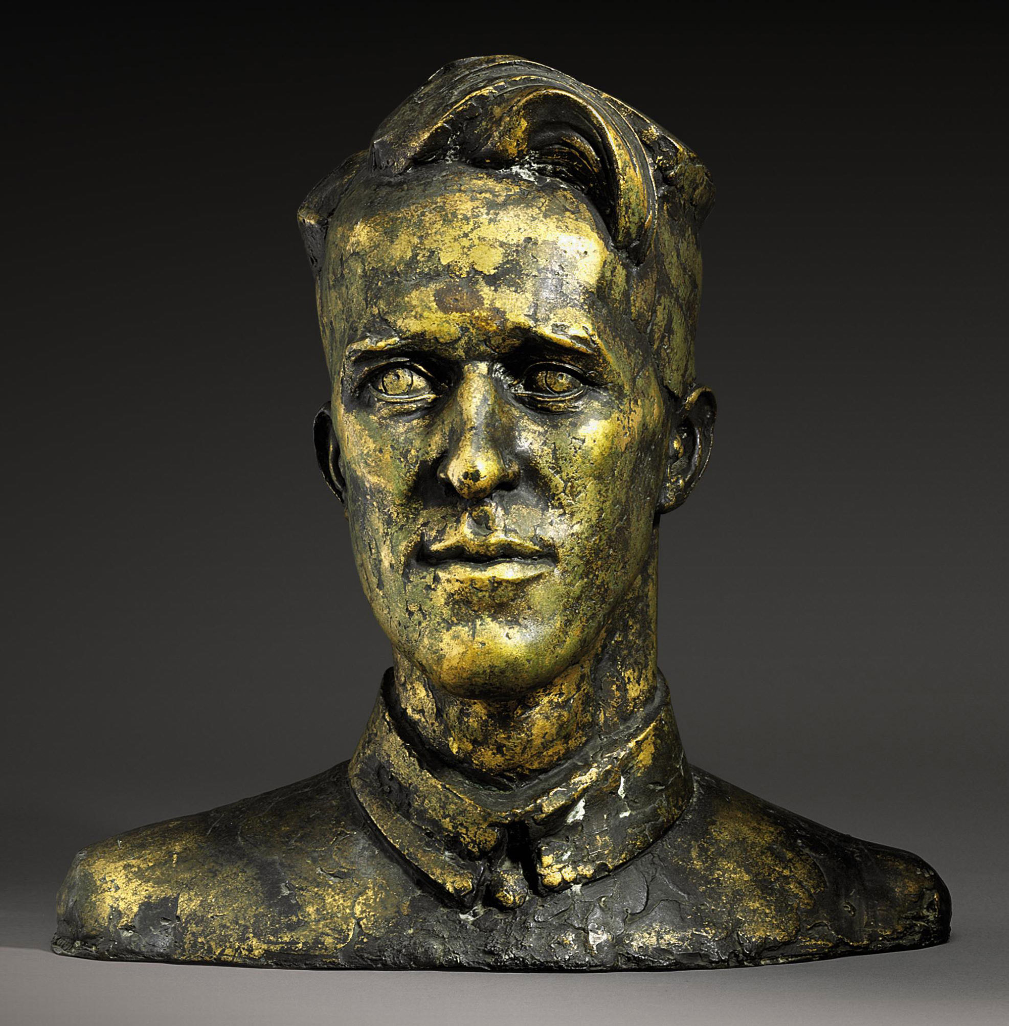 Portrait bust of T.E. Lawrence