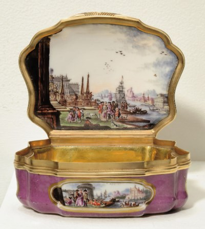 A MEISSEN GOLD-MOUNTED IMPERIA