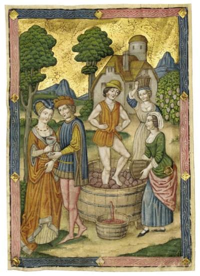 MAKING AND TASTING WINE, full-
