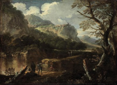 Circle of Salvator Rosa (Arene