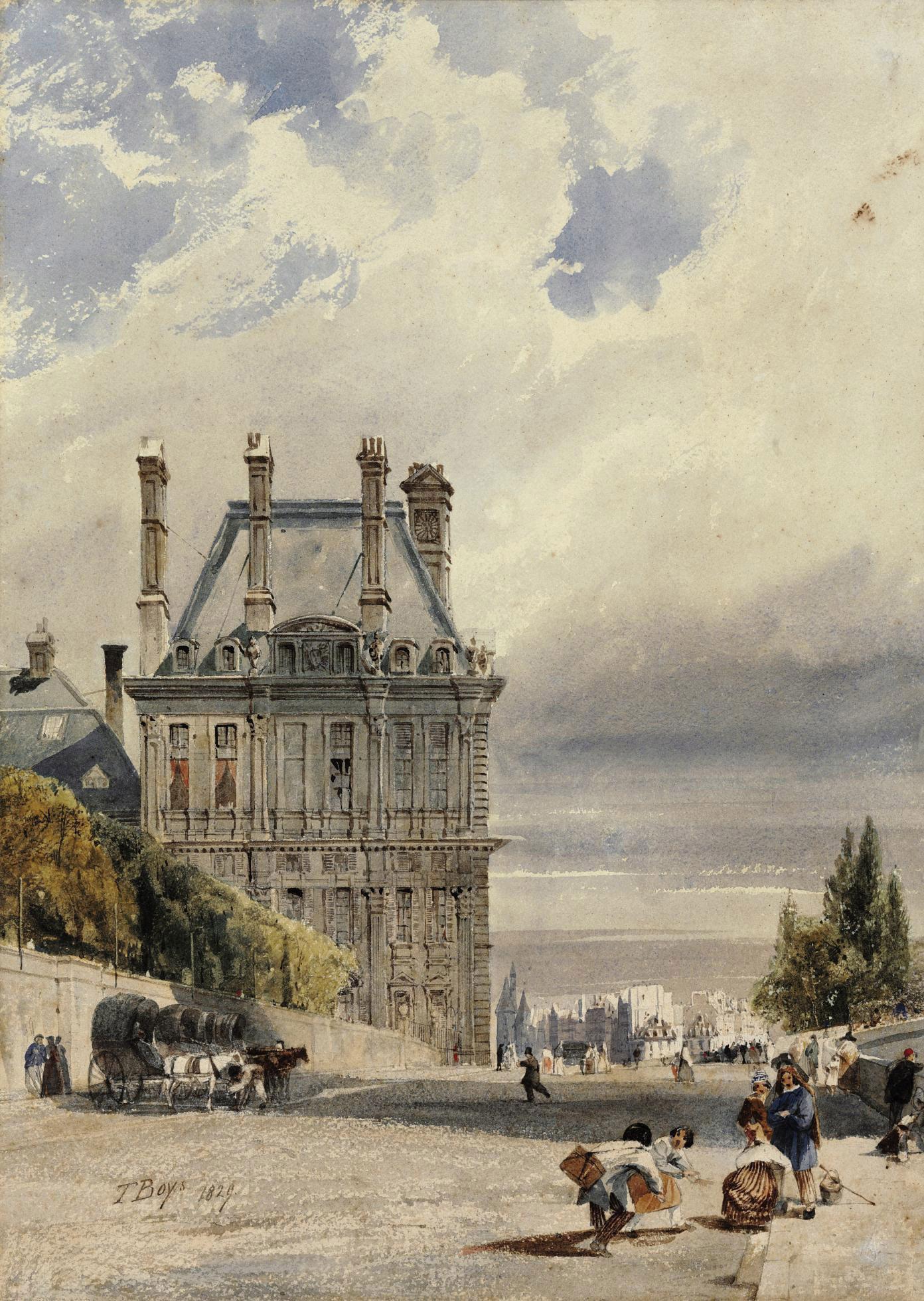 Le Pavillon de Flore, Tuileries, Paris