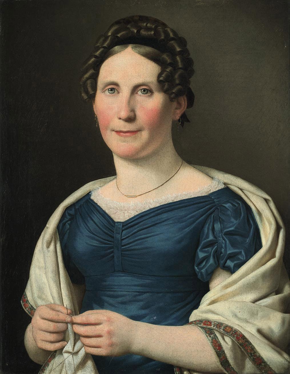 Portrait of Mrs Wad