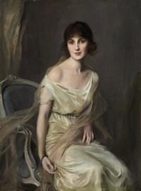 Portrait of Doña María Mercedes de Alvear