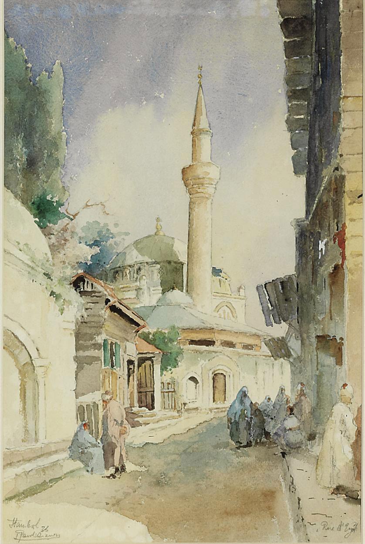 Street of Eyub, Istanbul