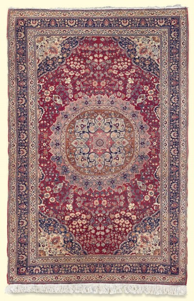 A MESHED RUG
