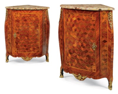 A PAIR OF LATE LOUIS XV TULIPW