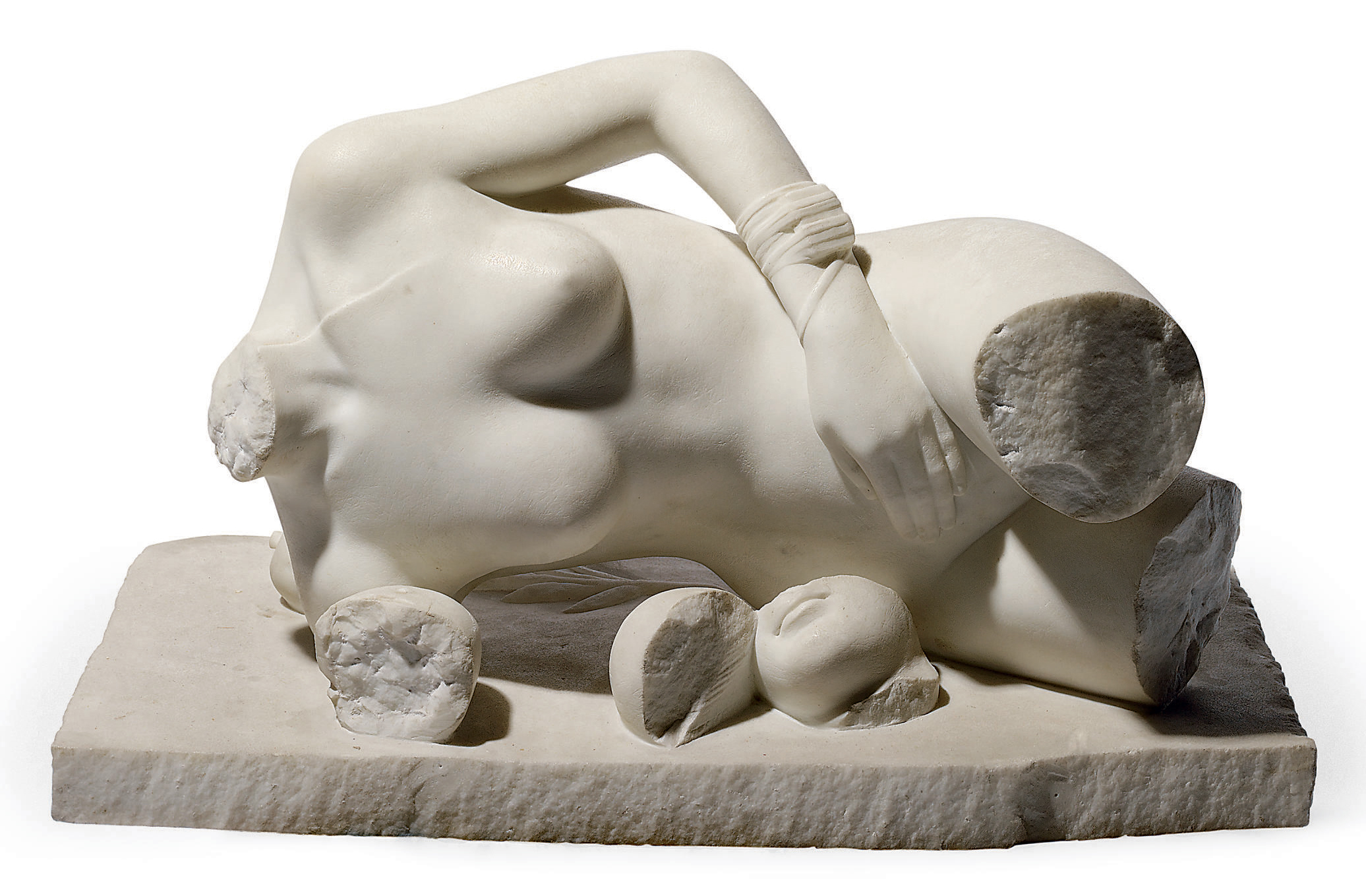 Untitled (Woman reclined)