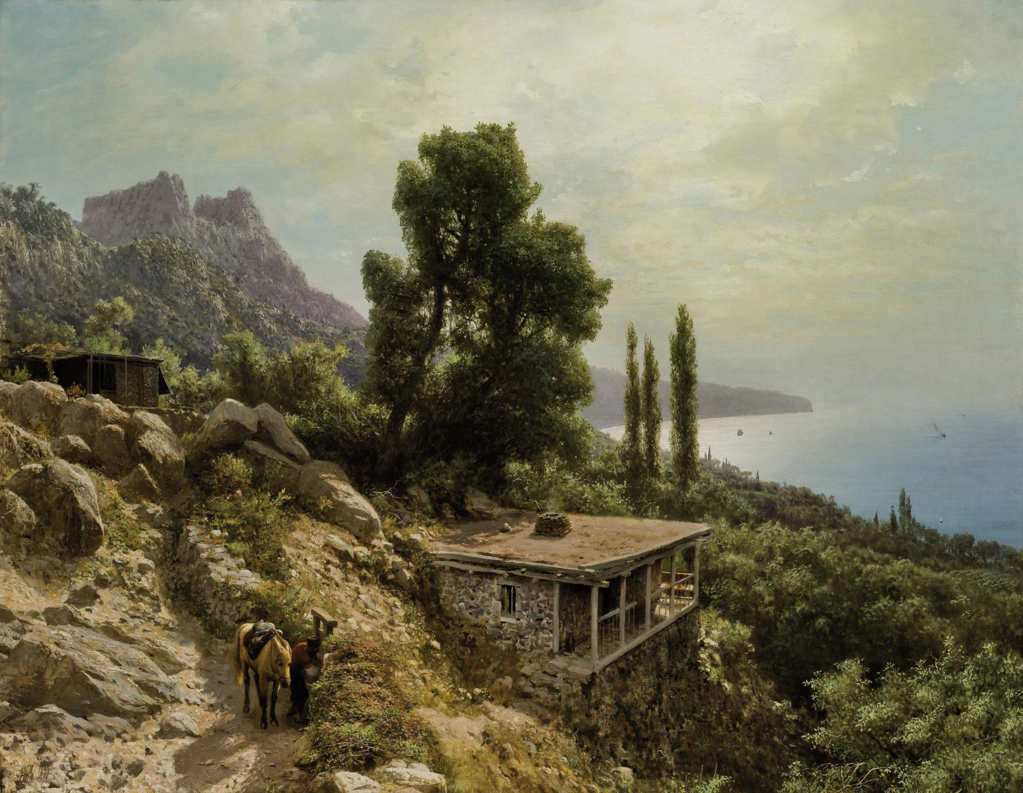 Near Ay-Petri in the Crimea