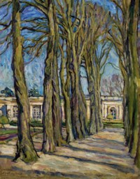 Versailles. L'Allée.