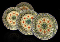 A Set of Four Plates from the Kremlin Service
