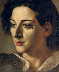 Woman with a beauty-spot