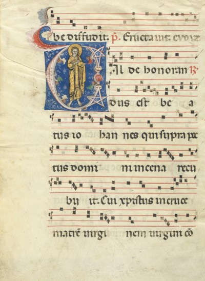 ST JOHN THE EVANGELIST, histor