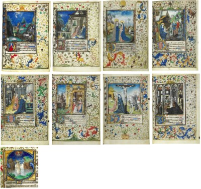 HOURS AND FERIAL PSALTER, use