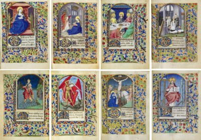 BOOK OF HOURS, use of Rennes,