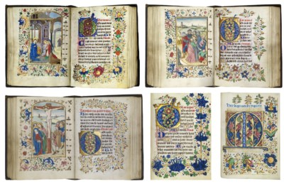 BOOK OF HOURS, in Dutch, use o