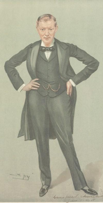 Churchill Winston S Portrait Lithograph Signed Winston