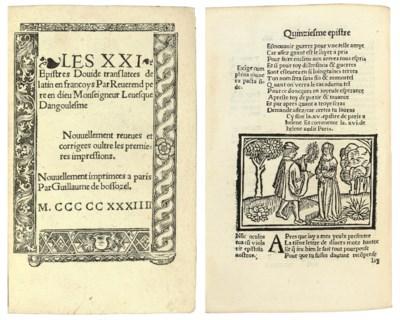 OVIDIUS, Publius Naso (43 B.C.