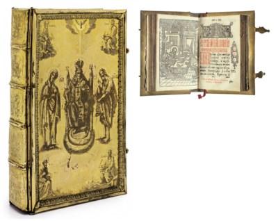 BIBLE, Gospels, Slavonic. Evan