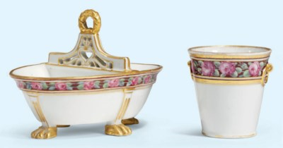 A RUSSIAN PORCELAIN (IMPERIAL